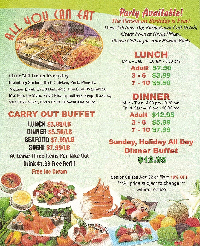 yummy asian buffet menu rh menusofberks com asian buffet menu prices asian buffet menu wabash indiana
